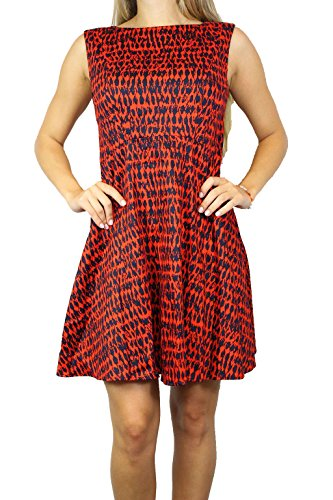 Masai FRENCH M Dress 71FHS O12a Damen Multi Red CONNECTION Kleid Rot Gr Ixr8wqIA