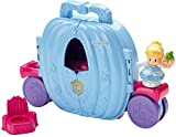 Fisher-Price Little People Disney Princess Cinderella's Fold 'N Go Carriage Playset