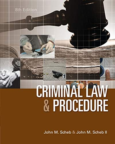 Criminal Law and Procedure (For The New Criminology The Criminal Law)