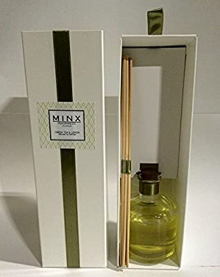 Green Tea & Lemon Scented Reed Diffuser by MINX Fragrances | Great Gift Idea!