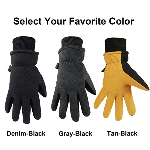 OZERO Winter Gloves -30°F Cold Proof Thermal Driving Glove