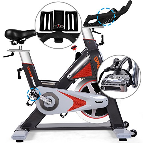 L NOW Pro Stationary Upright Exercise Bike Indoor Cycling