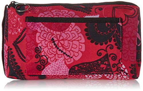 (Prestige Medical Compact Carry Case, Ribbons and Hearts Pink)