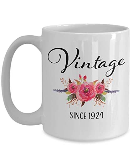 Vintage Since 1924 95th Birthday Gifts For Women