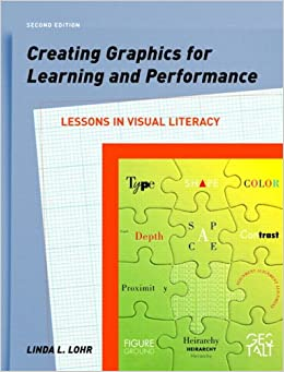 "Thumb nail of Linda Lohr's text ""Creating graphics for learning and performance"""