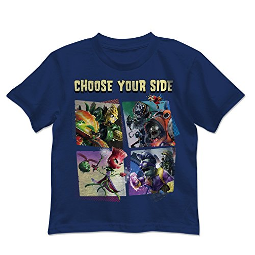 Plants vs. Zombies Little Boys' Choose Your Side Tee (7)]()