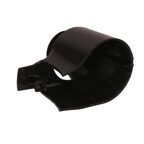 Tapa de repuesto para limpiaparabrisas trasero, color negro: Amazon.es: Coche y moto