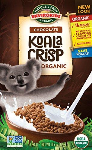 EnvirokidzOrganic Gluten-Free Cereal, Chocolate Koala Crisp, 11.5 Ounce Box (Pack of 6)