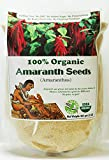 Indus Organics Amaranth Seeds, 2 Lb Bag, Sulfite Free, No Added Sugar, Premium Grade, High Purity, Freshly Packed