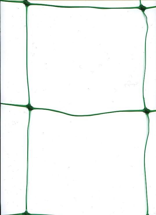 WARKHOME Red de Jardín, Valla de Jardín de Plástico, 1, 7 m x 4 m, Color Verde, con Agujeros de 15 cm, Malla de Apoyo para Escalada, Plantas y Valla de Cultivo: Amazon.es: Jardín