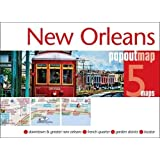 New Orleans PopOut Map - pop-up New Orleans city map (PopOut Maps)
