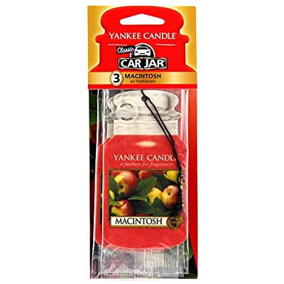Yankee Candle 1114292 Macintosh Car Freshener: Automotive