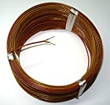 High Temperature K-type Thermocouple Wire AWG 24 w. Kapton insulation - 5 yd roll