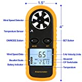 TekSky GM816 Handheld Digital Anemometer