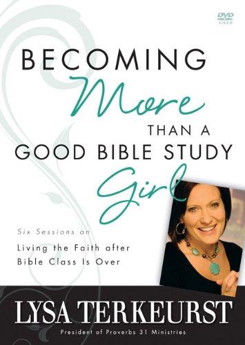 Becoming More Than Bible Study