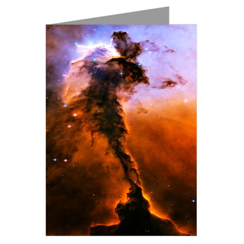 The Eagle Has Risen: Stellar Spire within the Eagle Nebula-Hubble Telescope Image From NASA-Boxed Notecard Set