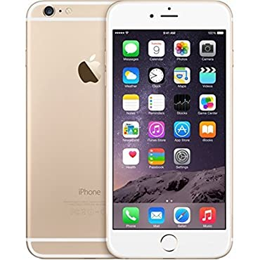 Apple iPhone 6 Plus 64GB Factory Unlocked GSM 4G LTE Smartphone, Gold (Certified Refurbished)
