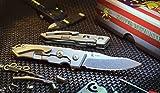 Spartan Blades Metis Folding Flipper Knife Titanium SF4SWXX