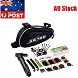 SAHOO Bike Repair Tool Kits 16pcs Bicycle Tool Set Bag with Tire Patch Levers