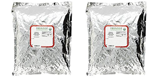 Set of 2 Frontier Natural Products Frontier Bulk Olive Leaf Powder – Organic, 1 lbs. Bundled by Maven Gifts (Frontier Olive)
