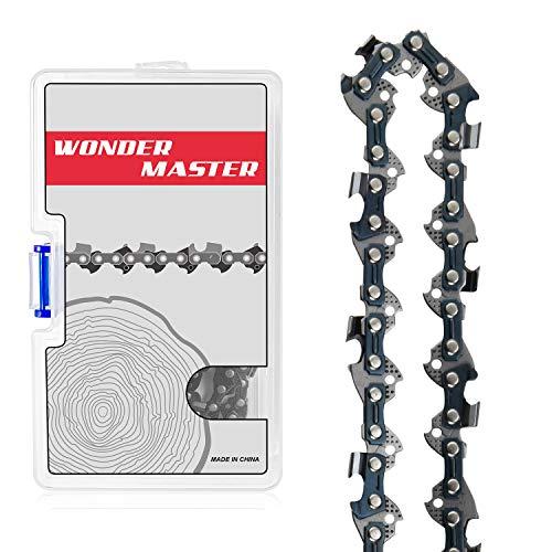 WONDER MASTER 18 Inch Chainsaw Chains 1Pack - 3/8