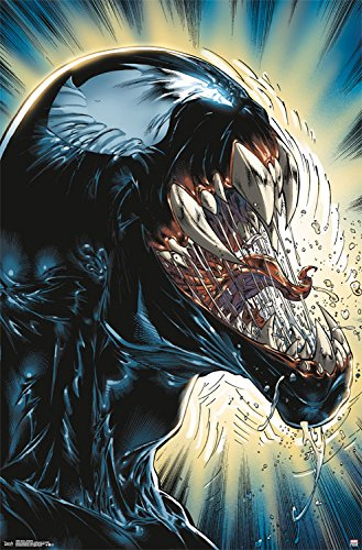 "Trends International Venom Darkness Wall Poster, 22.375"" x 3"