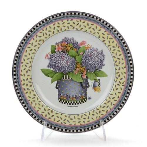 (Spring Bouquet by Sakura, Stoneware Salad Plate)