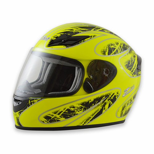 Zamp FS-8 Snell M2015 DOT Helmet Graphic Blue//Silver X-Small H045C04XS