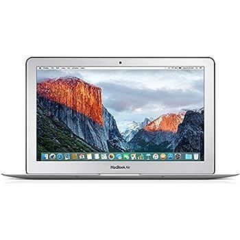 Apple MacBook Air 11.6-inch 1.6GHz 256GB SSD Intel Core i5 (Certified Refurbished)