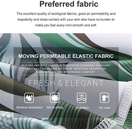 レディースジャージ上下セット デジタル印刷速乾性のベストスポーツハイウエストパンツ2ピースヨガフィットネスセット (サイズ : S)