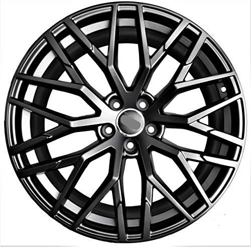 Amazon Com 20 Inch Black Wheels Rims Full Set Of 4 Fit For Audi