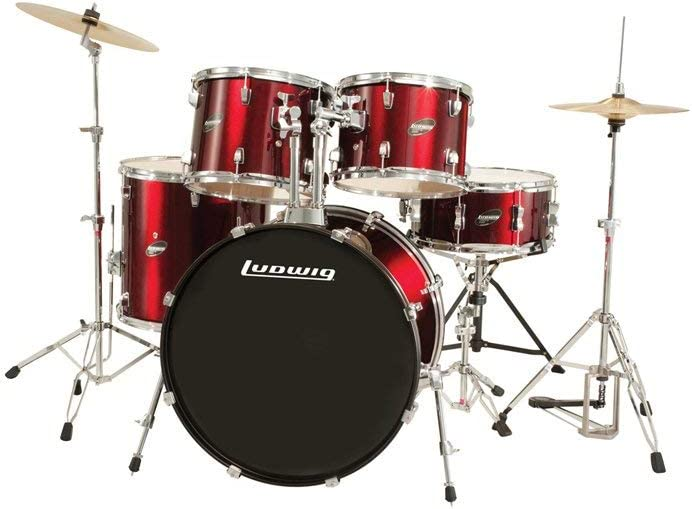 Ludwig Accent Drive LC1754 5-Pc Drum Set