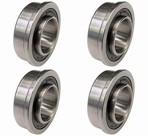 """BC Precision 60002 Marathon 5/8"""" Replacement Precision Ball Bearings - 4 Pack .50"""" Width.625 Chromium Steel (Pack of 4) price tips cheap"""
