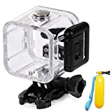 First2savvv GO4S-FSK-05QSB Waterproof Underwater Protective Housing Case for Gopro hero 4 session + dive stick