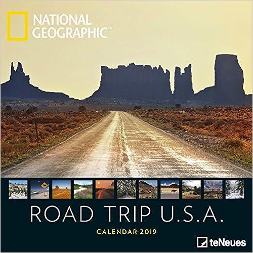2019 Nat Geo Road Trip USA 30x30 Grid Ca