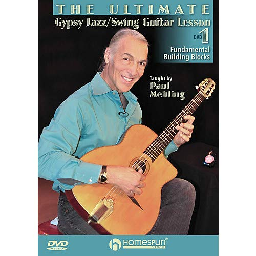 (The Ultimate Gypsy Jazz/Swing Guitar Lesson Homespun Tapes Series DVD Written by Paul Mehling- Pack of 2)