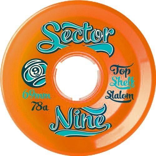 サロン流行環境に優しい(セクターナイン) SECTOR9 スケートボード ロンスケ ロングスケートボード ウィール Nine Ball(ナインボール) 69mm 78A 【正規品】