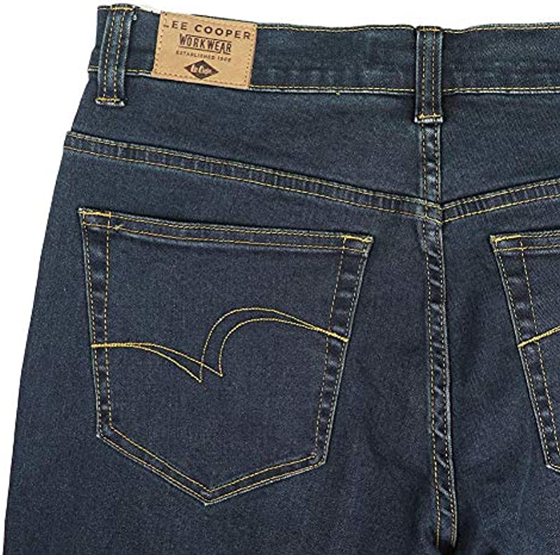 Lee Cooper jeansy męski ze strechem, niebieski: Baumarkt