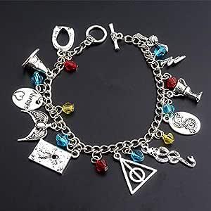 Harry Potter Combination Bracelet for Girls, Silver