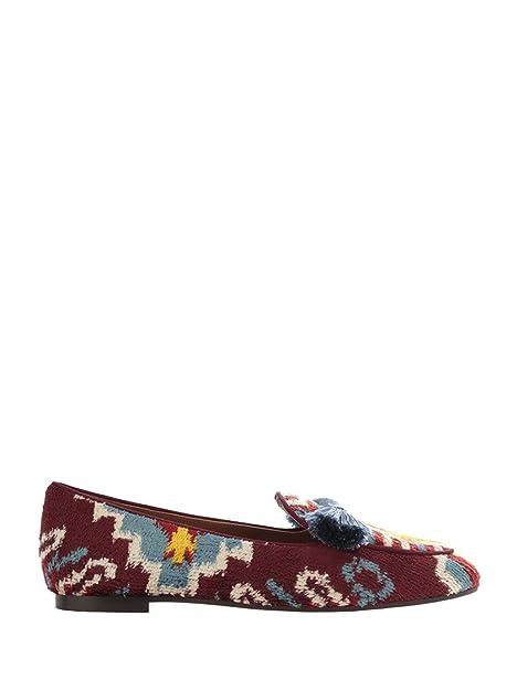 AQUAZZURA Mocasines Para Mujer Rojo Granate, Color Rojo, Talla 39: Amazon.es: Zapatos y complementos