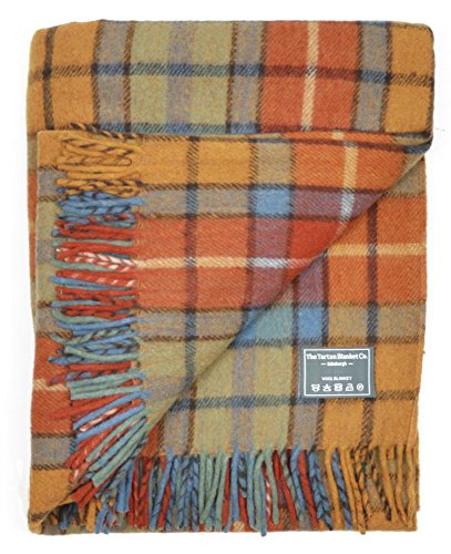 The Tartan Blanket Co. Recycled Wool Blanket Buchanan Antique Tartan (68