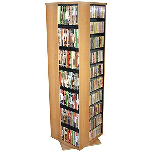 spinning dvd rack - 8