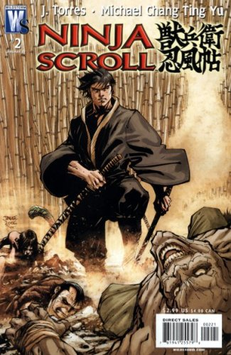 Ninja Scroll #2 (Jim Lee Variant): J. Torres, Michael Chang ...
