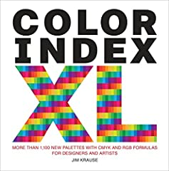 This updated, expanded, and oversized inspirational resource presents 1,100 color palettes, with light, bright, dark, and muted varieties for each one, making it the most expansive palette selection tool available. Color Index XL provides asp...