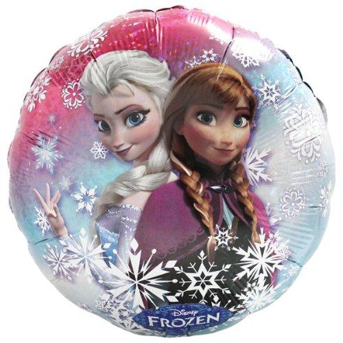 Globo Set * Elsa & Anna de Frozen + helio relleno + pinza + ...