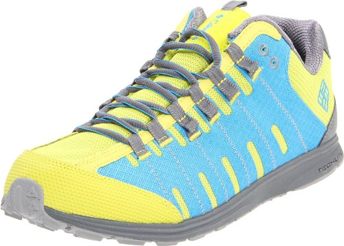 Columbia Men's Master Fly Trail Shoe,Chartreuse/Compass Blue,8.5 M US