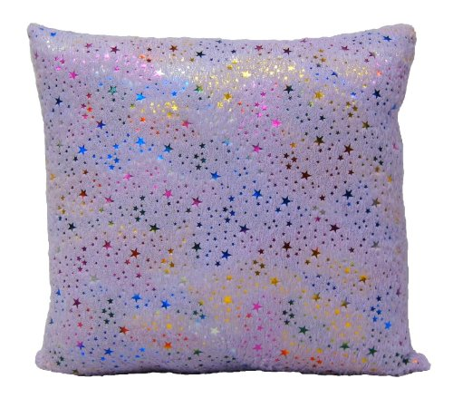 Brunton International Starbrite Foil Stamp Pillow, 20 by 20-Inch, (Brunton Star)