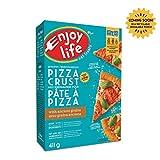 Enjoy Life Baking Mixes, Soy Free, Nut Free, Gluten Free, Dairy Free, Non GMO, Vegan, Pizza Crust Mix, 411 Gram Box (6 Boxes)