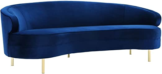 Amazon.com: Tov Furniture TOV-S133 Baila - Sofá, color gris ...