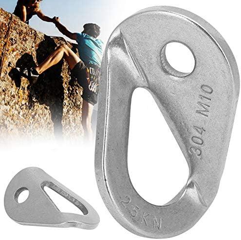 freneci 2Pcs 25KN Anchor Set Hanger Expansion Nut Piton Rock Climbing Equipment